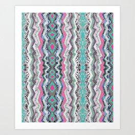 Love You Aztec Art Print