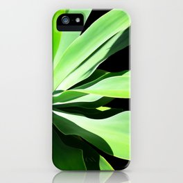 Succulent Agave Art by Sharon Cummings iPhone Case
