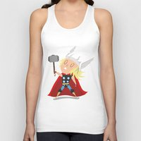 thor Tank Tops featuring Thor by Rod Perich