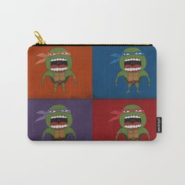 Screaming Turtles Carry-All Pouch