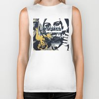 pulp Biker Tanks featuring Pulp by Mike Ferrari