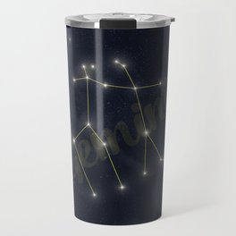 Gemini Constellation - Zodiac Travel Mug