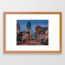 Main Street Framed Art Print