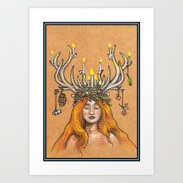 Imbolc/Candlemas/Brigid Art Print