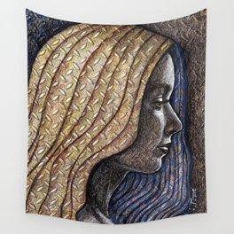 Metallic-layered Fairy Wall Tapestry