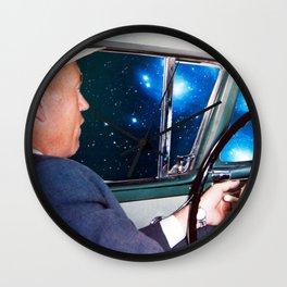 night driving Wall Clock