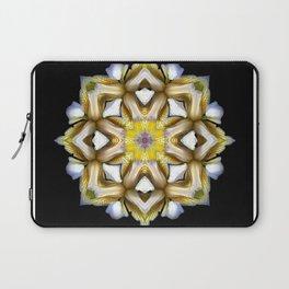 Yellow Iris Laptop Sleeve