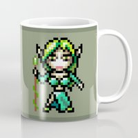 elf Mugs featuring Elf by HOVERFLYdesign
