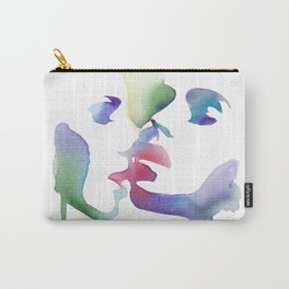 Girls playing hard (Dangerous liaisons) Carry-All Pouch