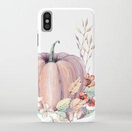 Autumn Pumpkin iPhone Case