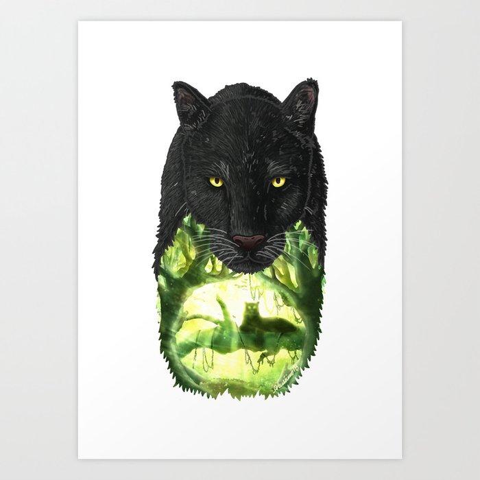 Jungle Cat Art Print