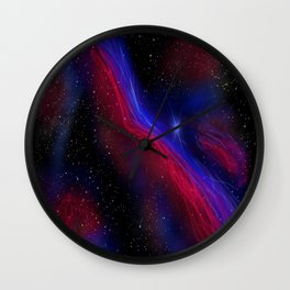 Witch's Broom Nebula Wall Clock
