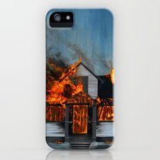 House on Fire iPhone (5, 5s) Slim Case