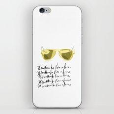Il mattino ha l'oro in bocca iPhone & iPod Skin