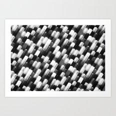 we gemmin (monochrome series) Art Print