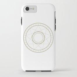 Anime Magic Circle 14 iPhone Case
