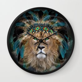 Fight For What You Love (Chief of Dreams: Lion) Tribe Series Wall Clock