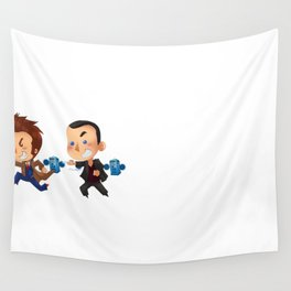 The Doctors! Wall Tapestry