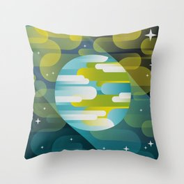 Come back Home Throw Pillow