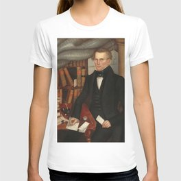 Vermont Lawyer Oil Painting by Horace Bundy T-shirt