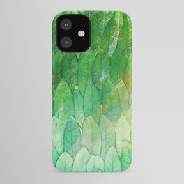 when the light hits the leaves iPhone Case