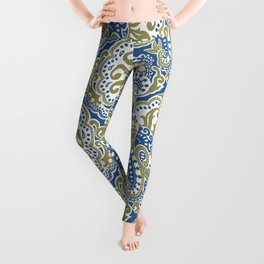 Bohemian Paisley Leggings
