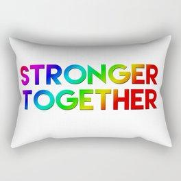 Stonger Together Rectangular Pillow