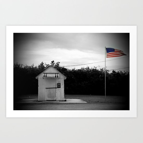 No Mail Today Art Print