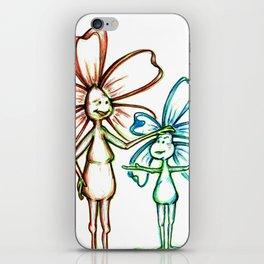 """""""Moms Know Best"""" Flowerkid iPhone Skin"""