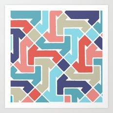 Azimuth 3 Art Print