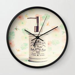French Bath Wall Clock