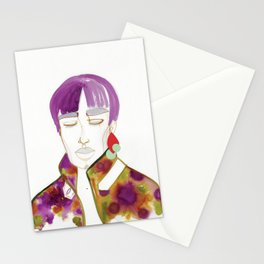 Cory with Winter Coat Stationery Cards
