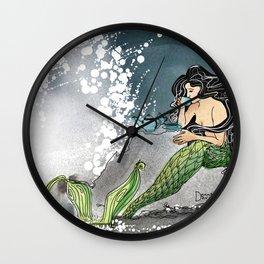Shore break Wall Clock