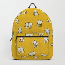 indian baby elephants Backpack