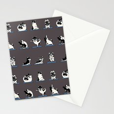 Husky Yoga Stationery Cards