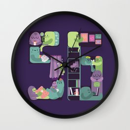 S6 tee Home is where S6 is Wall Clock