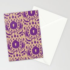 flower ikat Stationery Cards