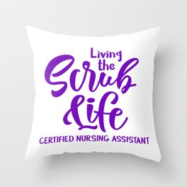 Certified nursing assistant, cna Throw Pillow