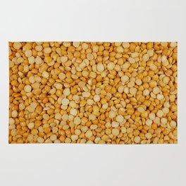Yellow split peas Rug