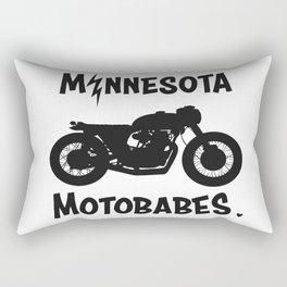 MN Motobabes Bike Rectangular Pillow