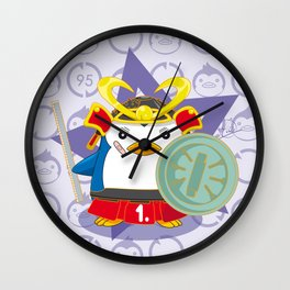 N°1 - Samurai Wall Clock