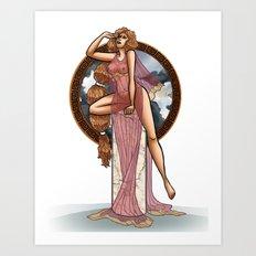 Eurydice Art Print