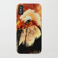 eagle iPhone & iPod Cases featuring Eagle by Ljartdesigns
