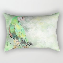 La Gran Lapa Verde Rectangular Pillow