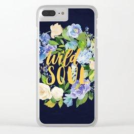 Wild Soul Clear iPhone Case