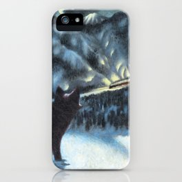The Fur of the Glacial Mouse iPhone Case