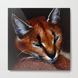 Karakul wildcat Metal Print