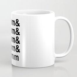 Focal Lengths - Black Coffee Mug