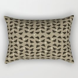 Moths in the Attic Rectangular Pillow