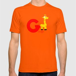 g for giraffe T-shirt